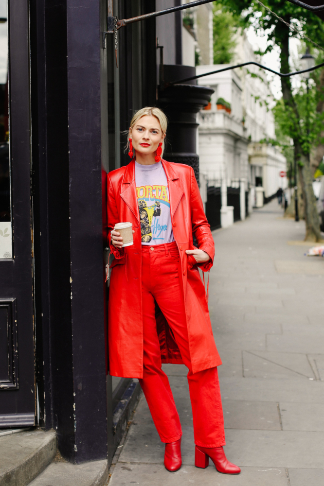 Pinterest Red Street Style