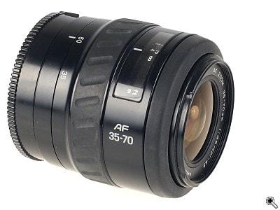 Lens minolta 35-70f3.5-4.5