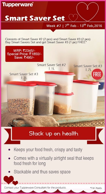 Tupperware Smart saver set