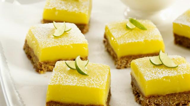 Bouchées fondantes au citron et spéculoos