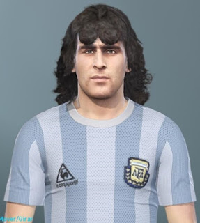 PES 2019 Faces Mario Kempes by MinchoSheen