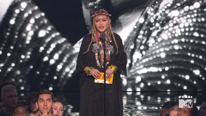 #VMAs: Madonna Tribute to Aretha Franklin Prompts Backlash, Charges of Culture Appropriation