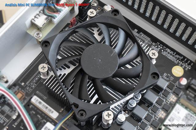 REFRIGERACIÓN MINIPC SLIMBOOK ONE AMD RYZEN 7 4800H