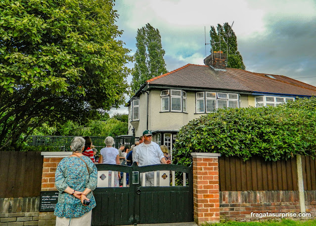 Mendips, casa de John Lennon em Liverpool, Inglaterra
