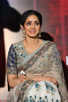 Sri Devi in designer saree stunning beauty at the launch of MOM movie Trailer~  Exclusive 012.JPG