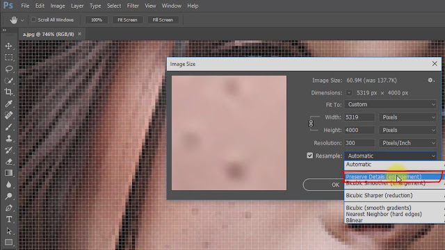 how to depixelate image convert screenshot 2