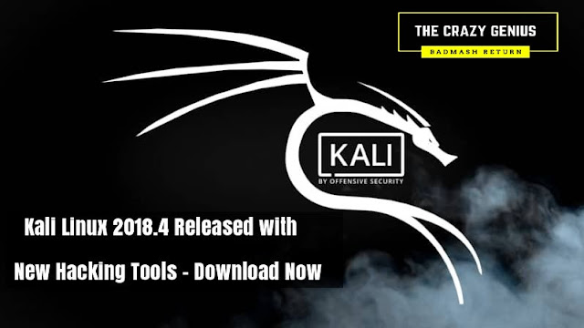 New Tools and Tool Burp Suite, Patator, Gobuster, Binwalk, Faraday, Fern-Wifi-Cracker, RSMangler, theHarvester, wpscan, and more. For the complete list of updates, fixes, and additions, please refer to the Kali Bug Tracker Changelog. Upgrades 64-bit Raspberry Pi 3 Download Kali Linux 2018.4 Ensuring your Installation is Updated