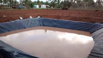 Ponds for Krishi Bhagya Scheme in Karnataka