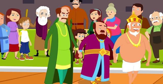قصة ملابس الامبراطور الجديده