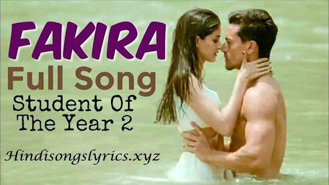 Fakira Full Lyrics
