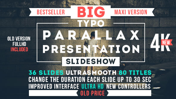 Big Typo Parallax Presentation Videohive – Free After Effects ...