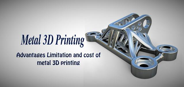 Metal 3D printing|filament, Advantages and Limitation