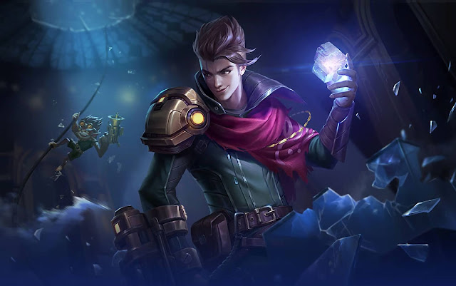 Claude Partners in Crime Heroes Marksman of Skins Mobile Legends Wallpaper HD for PC