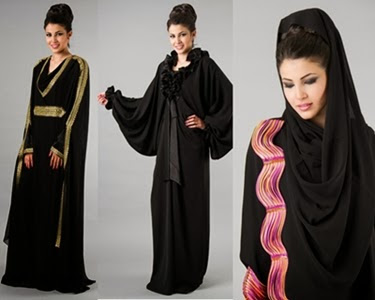 Latest Designs of Burqa 2015