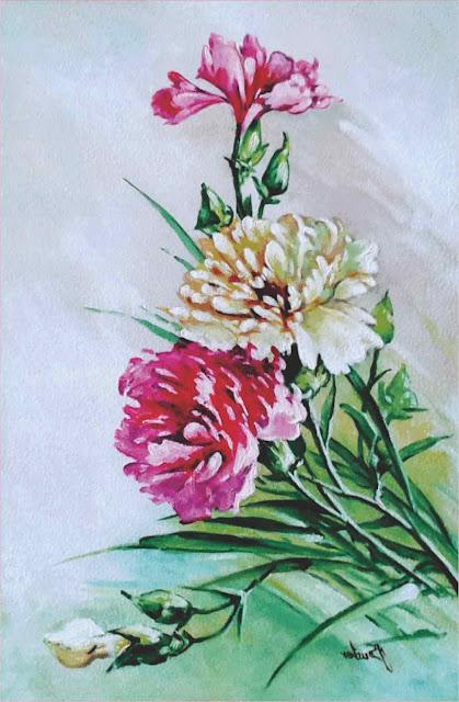 lukisan-bunga-cantik