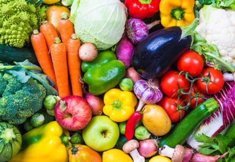 frutas  verduras protectoras