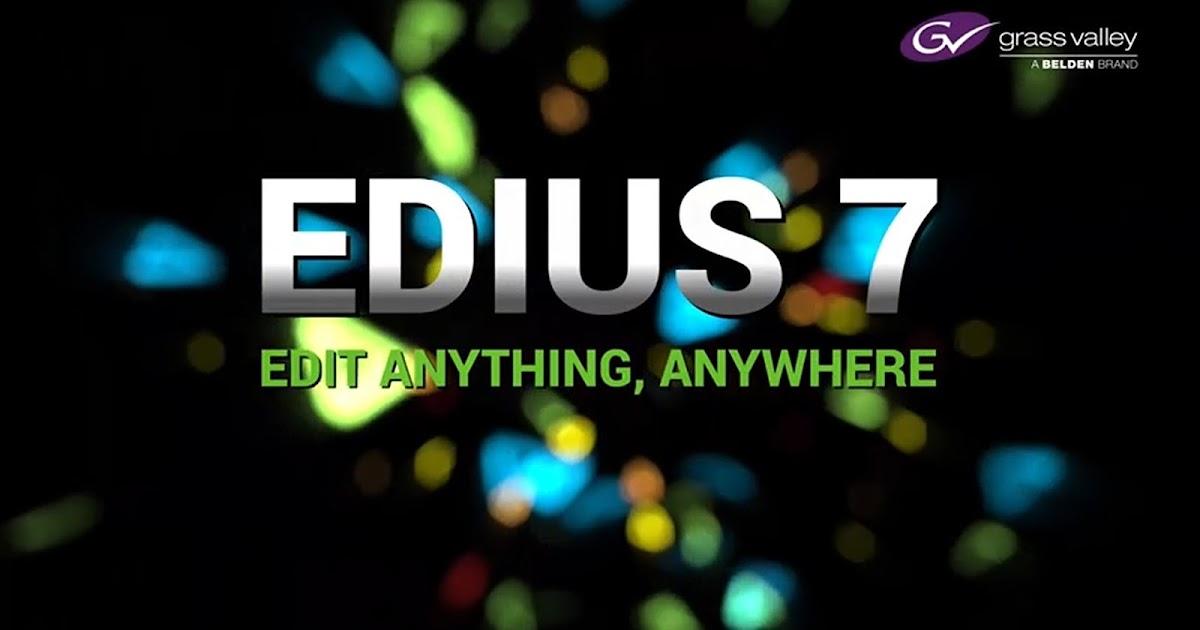 edius 5 serial number free download