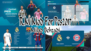 Ronaldo & Messi Graphic Mod PES 2017