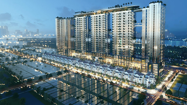 Dự án Sunshine Crystal River Sky Villas Ciputra Phú Thượng Tây Hồ