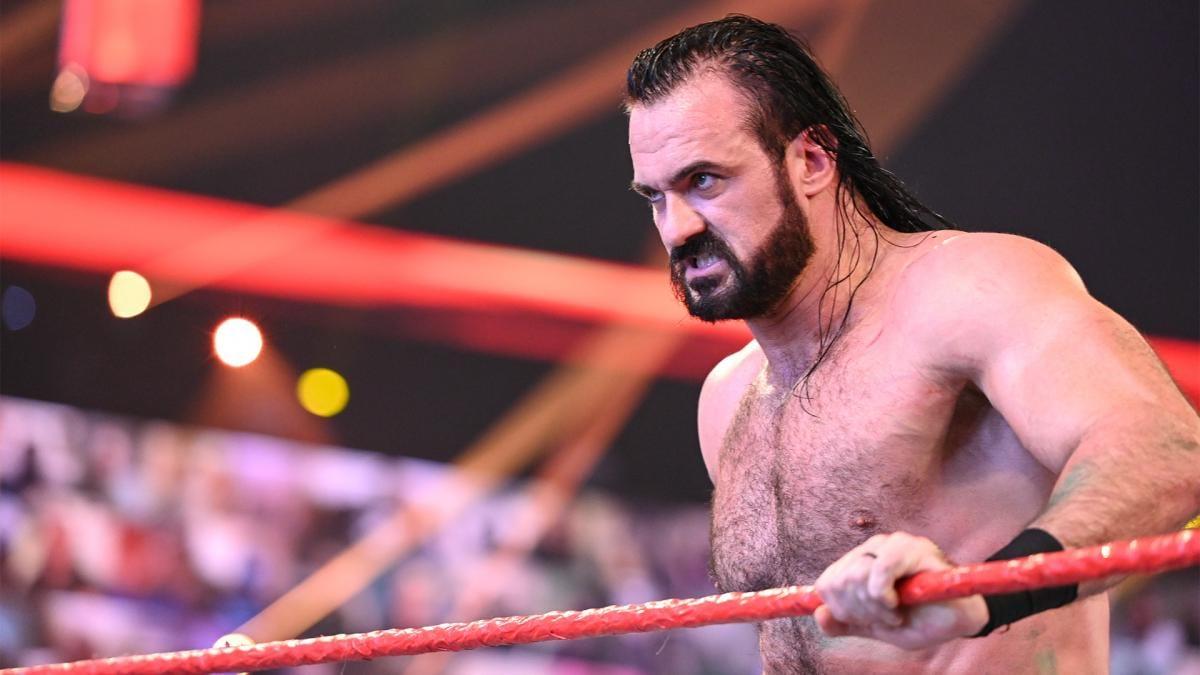 Drew McIntyre estava nos bastidores do último RAW