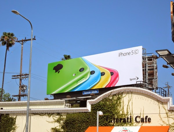 3rd wave Apple iPhone 5c billboard