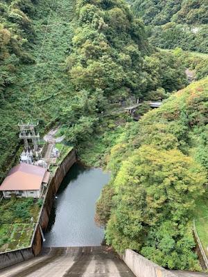 藤原ダム 下流側