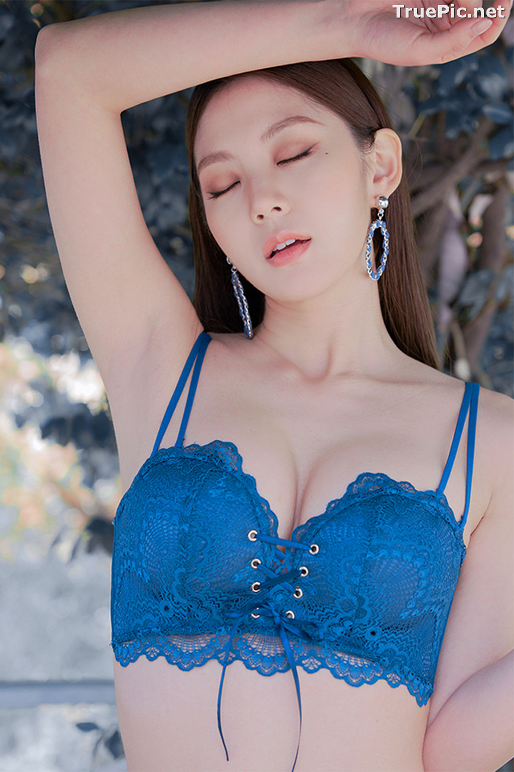 Image Korean Fashion Model – Lee Chae Eun (이채은) – Come On Vincent Lingerie #5 - TruePic.net - Picture-6