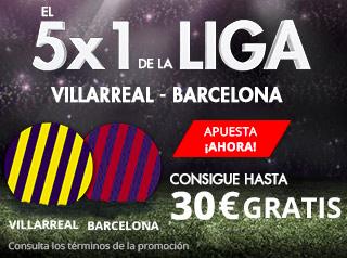 suertia promocion Villarreal vs Barcelona 10 diciembre