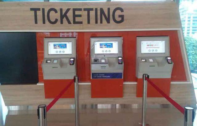 Cara Beli Tiket Kereta Bandara
