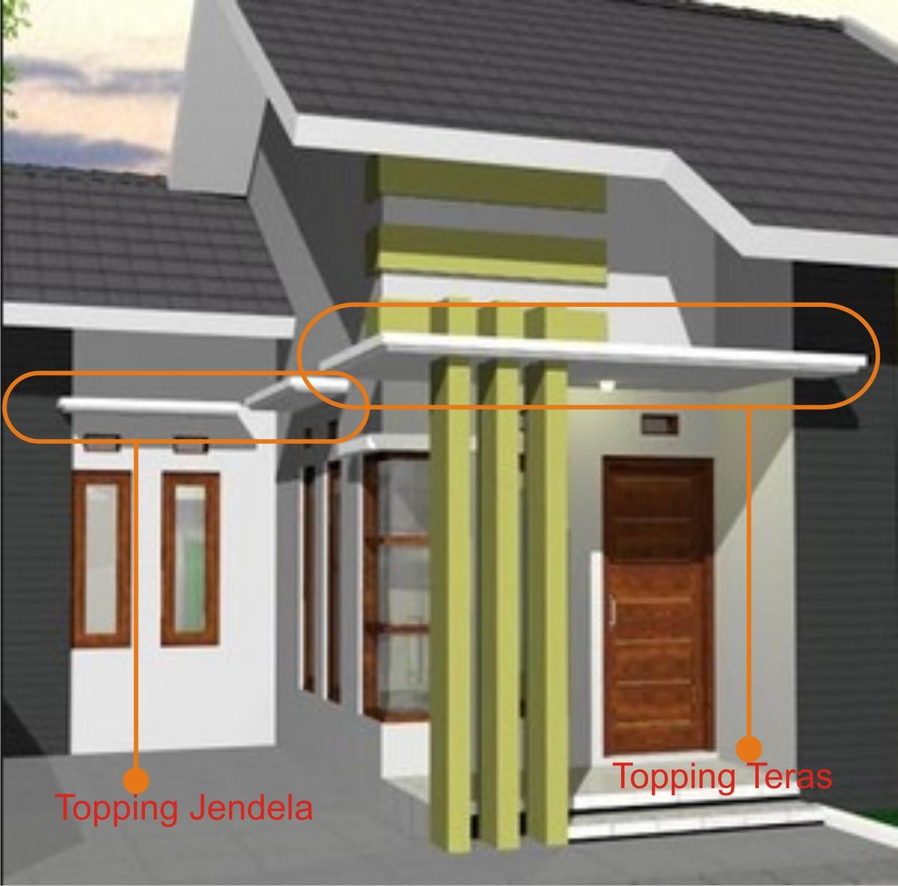 Pekerjaan Beton Konsol Kanopi Konstruksi Bangunan