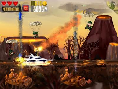 Ramboat: Shoot and Dash v3.1.1 MOD Apk (MOD Uang) Terbaru Free Download Screenshot 3