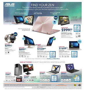 Experience ASUS at Best Buy Flyer March 31 to April 6
