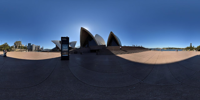 Sydney Opera house in Hi-Fidelity 360° panorama view by Kent Johnson
