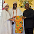 Wow ...Never Before Seen Rare Pictures of Ooni of Ife and Wife in public...see photos