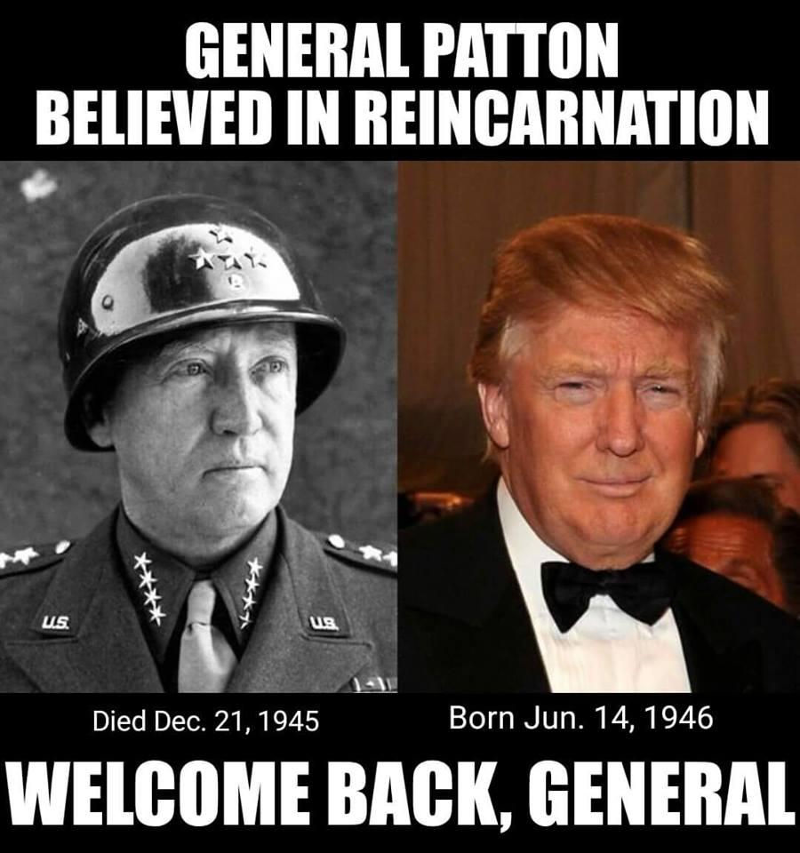 The Presumptive Philosopher Donald Trump Is George Patton Incarnate
