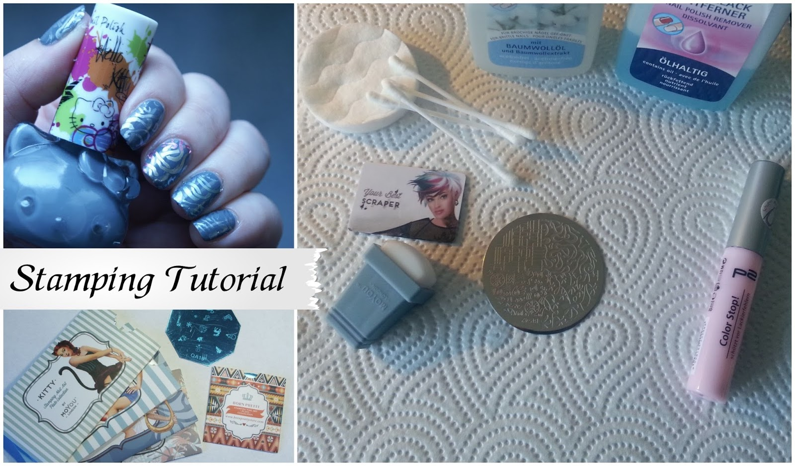 All About Nailart Nail Art Fur Anfanger Teil 4 Stamping