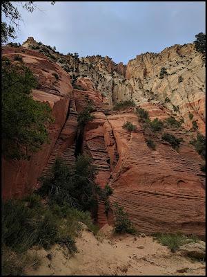 Beautiful Canyon Walls at Red Hollow Canyon