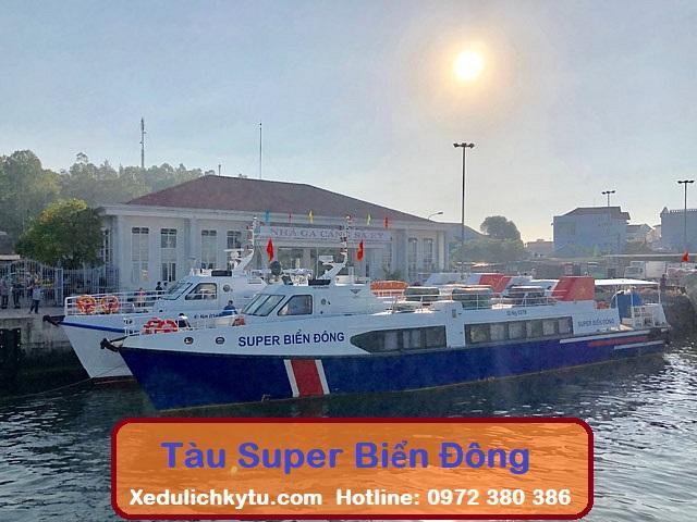 Tàu Siêu Tốc Super Biển Đông Sa Kỳ - Lý Sơn
