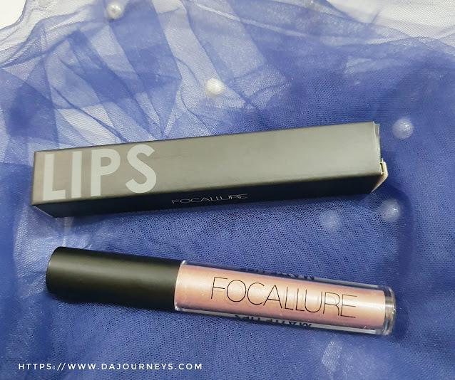 Review Focallure Ultra Chic Matte Lipstick