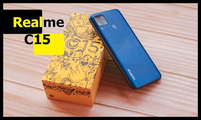 مواصفات وسعر هاتف Realme C15