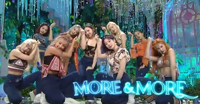 Twice More and More Inkigayo
