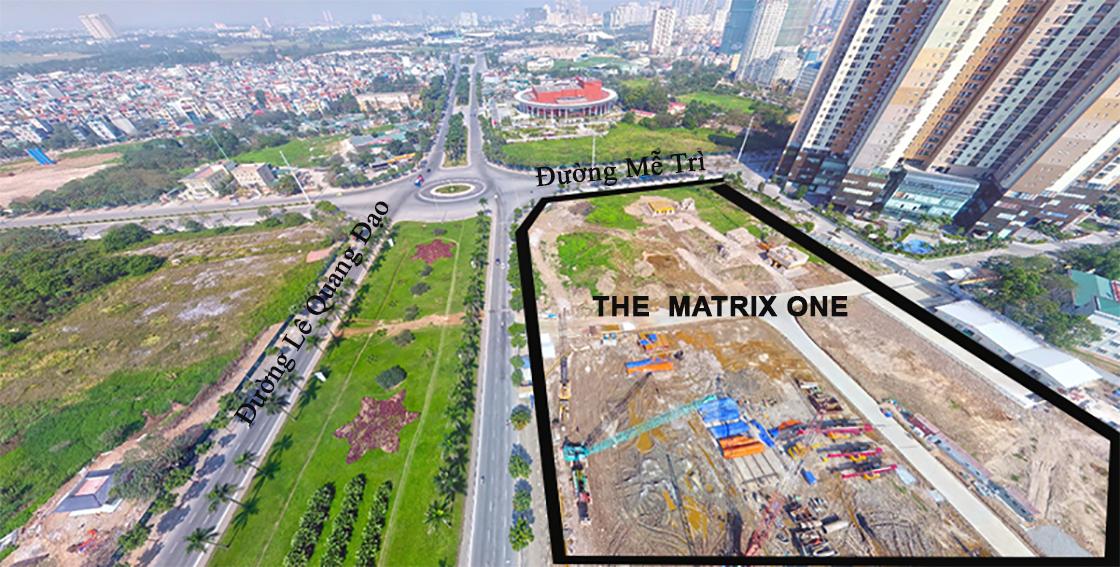 Kết nối vùng linh hoạt tại dự án căn hộ The Matrix One