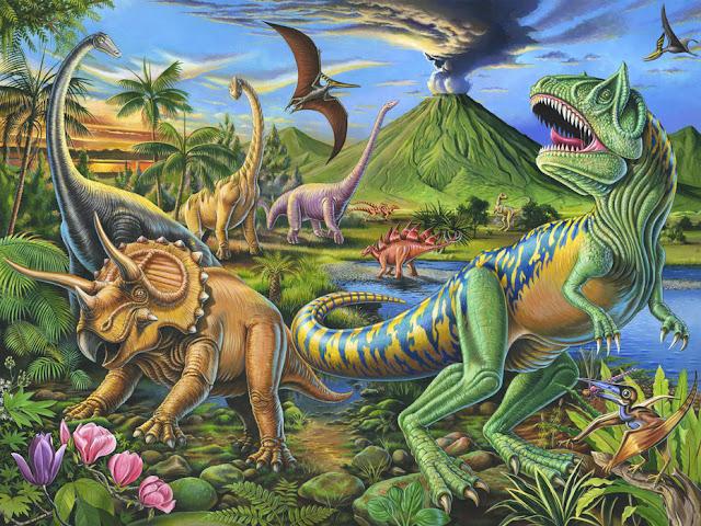 Lastenhuoneen tapetti Dinosaurus tapetti Lapset Valokuvatapetti Lapsia Huone