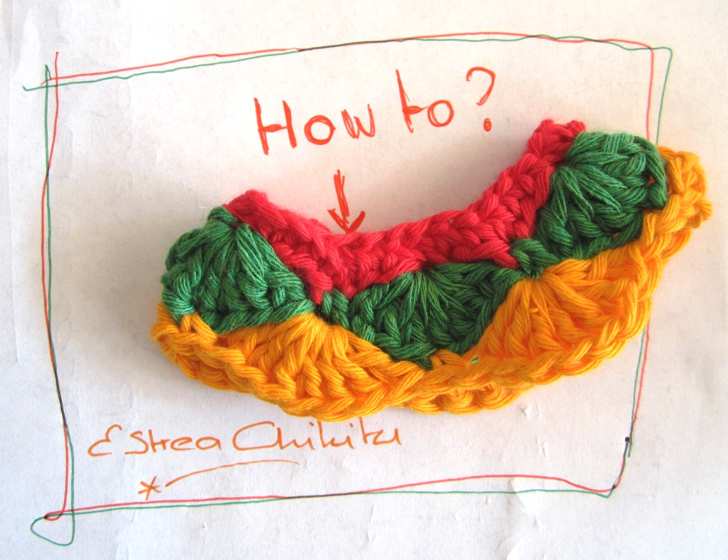 E Strea Chikitu Tutorial Waaiersteek Or Shell Stitch