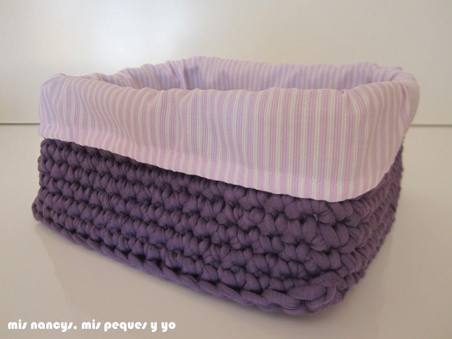 mis nancys, mis peques y yo, tutorial DIY funda cestas, funda terminada