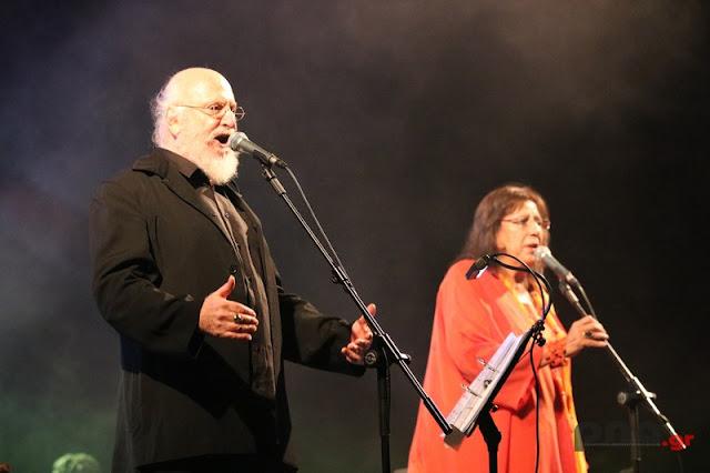 Διονύσης Σαββόπουλος και η Μαρία Φαραντούρη ταξίδεψαν το κοινό της Τρίπολης (βίντεο)