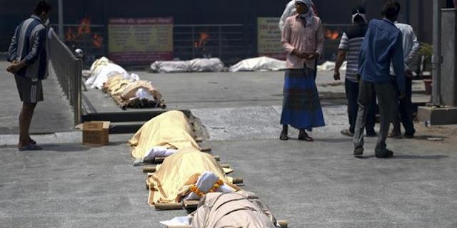 Kolkata India Dicengkeram Kesunyian Yang Menakutkan Saat Covid Kian Tinggi