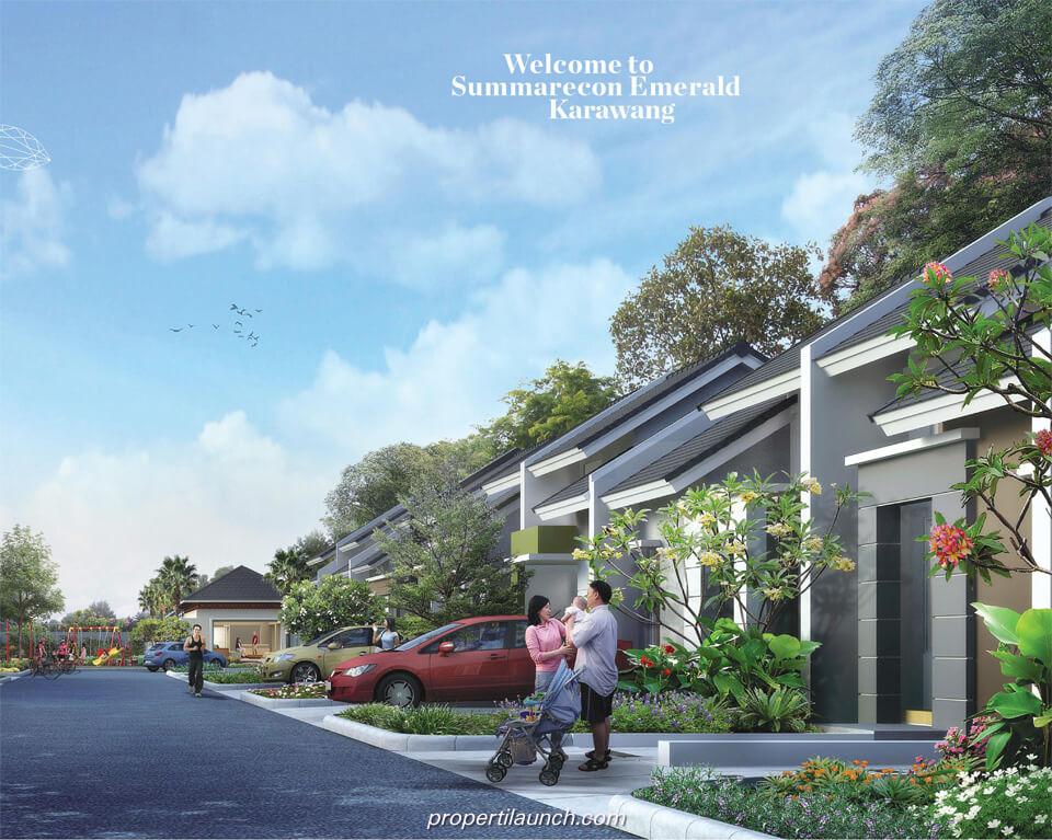Rumah Kalista Homes Summarecon Emerald Karawang