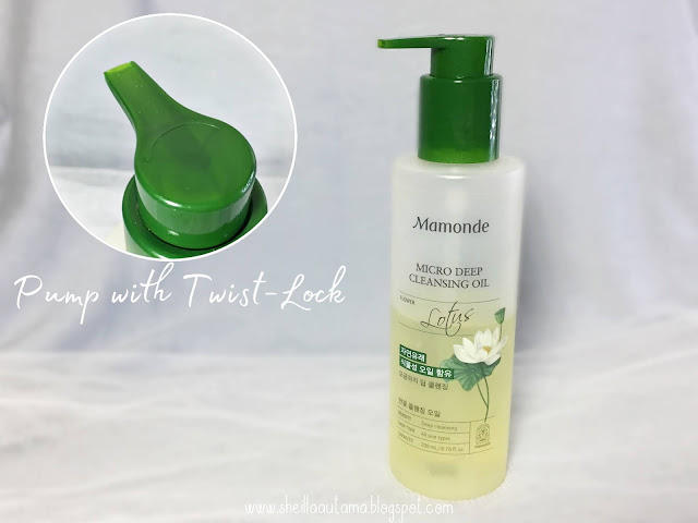 Mamonde Micro Deep Cleansing Oil Packaging - Sheilla Utama