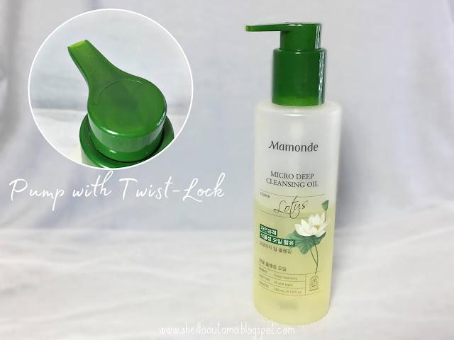 Mamonde Micro Deep Cleansing Oil Packaging - Sheilla Utama